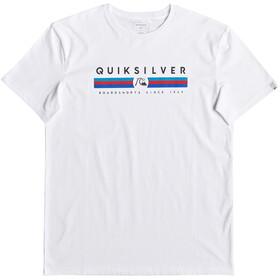 Quiksilver Get Bizzy T-Shirt Men, white